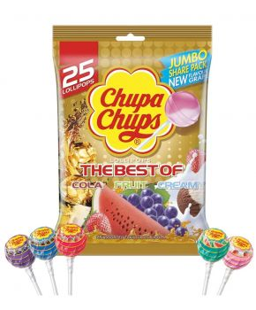 Chupa Chups Best of Lollipops 300g x 6