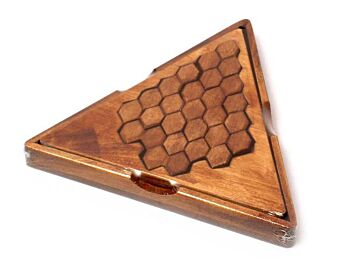 HONEYCOMB PUZZLE TRIANGLE BOX