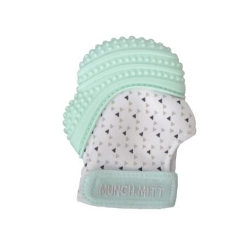Munch Mitt Teething Mitten Mint Green