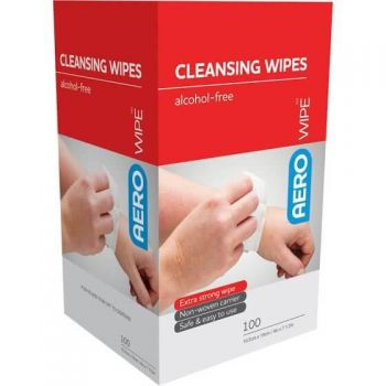 Wound Cleansing Wipe Sachet 100x Pack