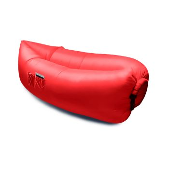 Inflatable Swimming Pool Air Bag Sofa in Red Colour