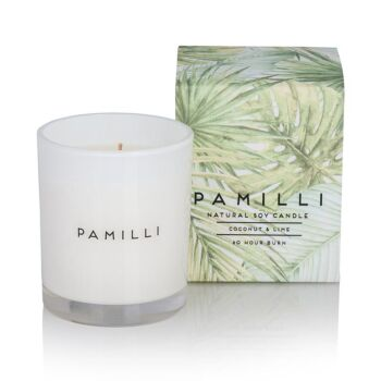 Natural Soy Candle - Coconut & Lime