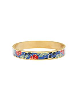 Barcs Australia Multi Enamel Women's Gold Plated Bangle