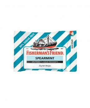 Fisherman's Friend Spearmint Sugar Free, 12 x 25g