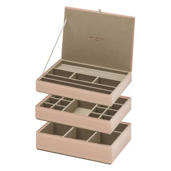 Stackable Jewellery Box Set - Blush