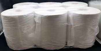 Pearl Centre Feed Paper Towel- 1ply (6 rolls)