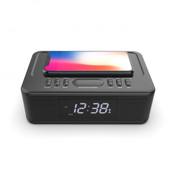 WIRELESS CHARGER BT CLOCK RADIO