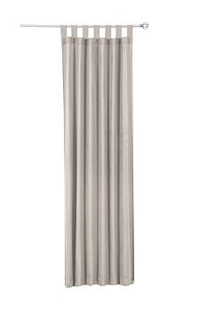 Sherwood Natural Sheer Light Filtering Curtains Simple Taupe 110*213Cm