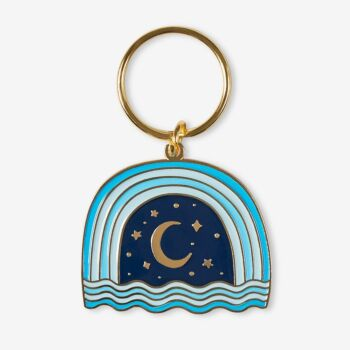 Night Sky Keychain
