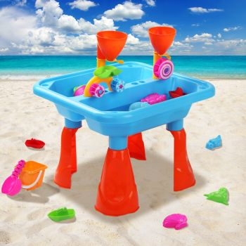 Kids Outdoor Sand and Water Children Activity Play Table Sandpit Toy Set