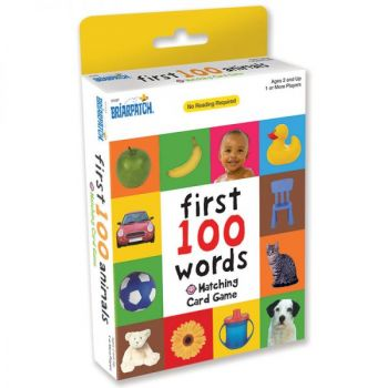 First 100 Matching Card Game - Words (12pc Display)