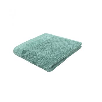 Costa Cotton Face Washer 33x33cm Kingfisher
