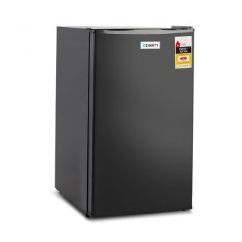 Devanti 95 Litre Mini Bar Fridge Black Cooling Kitchen Cooking Modern Drinks