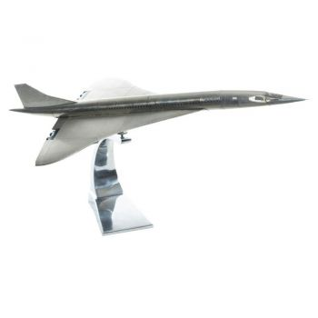 Authentic Models Concorde AirPlane Model With Stand