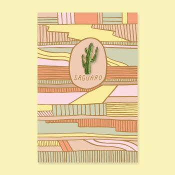 Saguaro pin + post