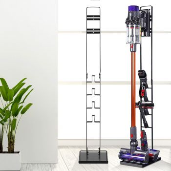 Freestanding Dyson Vacuum Stand Rack Holder Docking Accessories Handheld Vacuum Cleaner Cordless Stick Handstick For Dyson V6 7 8 V10 V11 Black