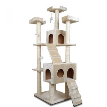i.Pet Cat Scratching Tree Gym House Furniture Scratcher Pole Toy Large 185cm