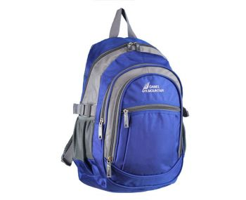 "19"" CAMEL MOUNTAIN BACKPACK ROYAL BLUE"
