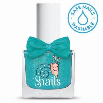 Snails Splash Lagoon  washable nail polish
