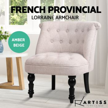 Lorraine Chair Sofa Lounge Chairs Tub Accent Occasional French Provincial