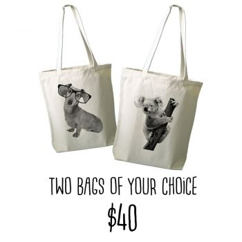 Two Tote Bags Offer