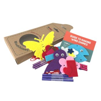 Daju Wind Chime Kit - Bird, Butterfly and Whale - Craft Kit for Kids