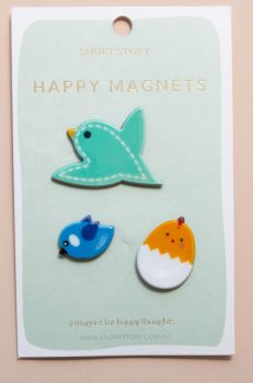 Happy Magnet Bird