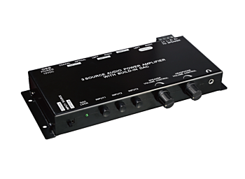X-1299 3 Source Audio Power Amplifier With Built-In Dac