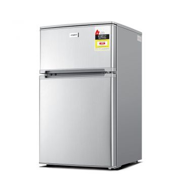 Devanti 84L Bar Fridge  Silver