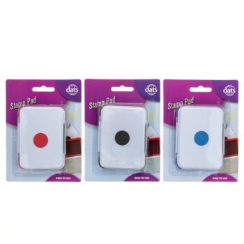 Stamp Pad Assorted Colours
