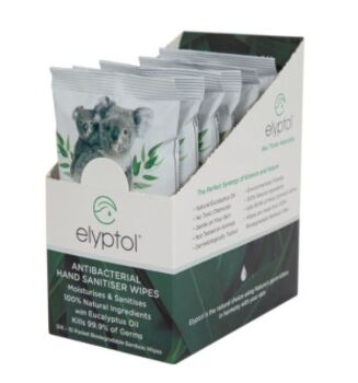 Antimicrobial Hand Wipes - 10 Packet (Box of 6)