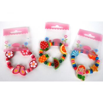 Wooden Bracelet 12 pcs/Bag 2