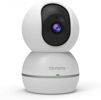 blurams snowman 1080p Dome Security Camera Home Security Surveillance Pet Cam for Home/Office/Baby/Nanny/Pet Monitor