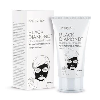 BeautyPro Black Diamond Peel Off Mask with Activated Charcoal (90ml)