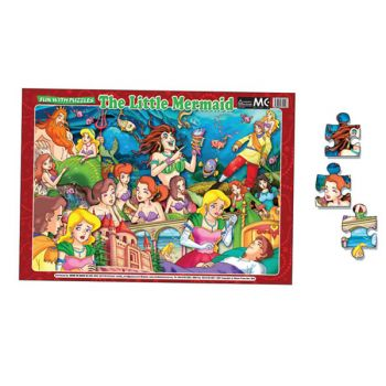 FUN WITH PUZZLES THE LITTLE MERMAID