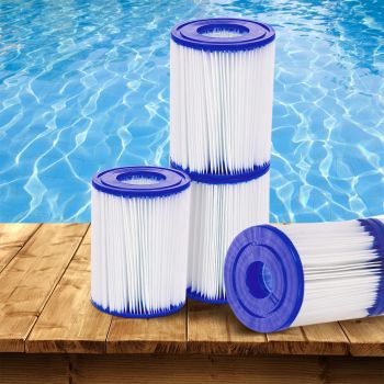 Bestway 6X Filter Cartridge For Above Ground Swimming Pool 800GPH Filter Pump
