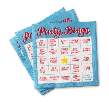 Cocktail Napkin Pk-Party Bingo