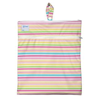 Wet & Dry Bag-Pink Ministripe