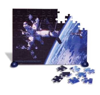 Puzzle | Space Station | self standing | 80pc