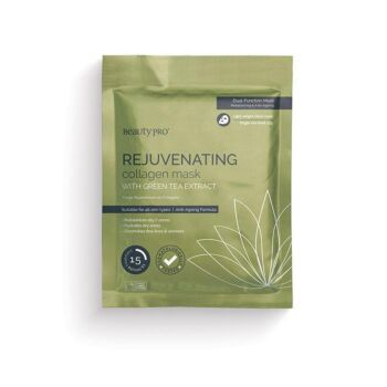 BeautyPro Rejuvenating Collagen Face Mask with Green Tea Extract (1 x 23g)