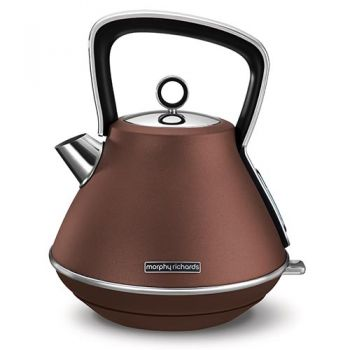 Morphy Richards Evoke Pyramid Kettle Bronze - 100101