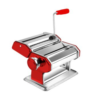150mm Stainless Steel Pasta Making Machine Food Maker 100% Genuine Red