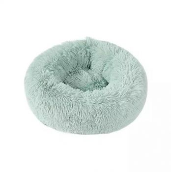 Soothing Calming Donut Pet Bed in Mint