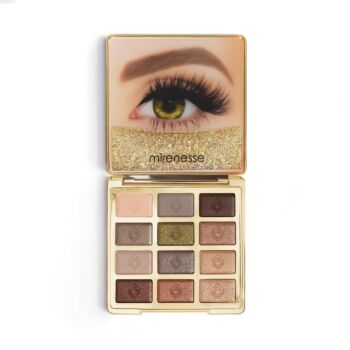 Mirenesse 20th Anniversary Solid Gold Eyeshadow Palette