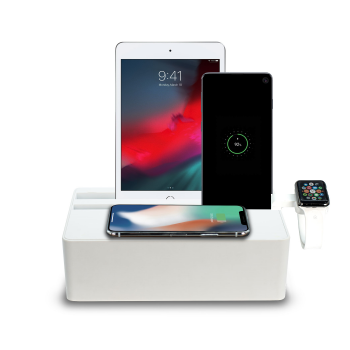 ALLDOCK Wireless White Apple Watch Package