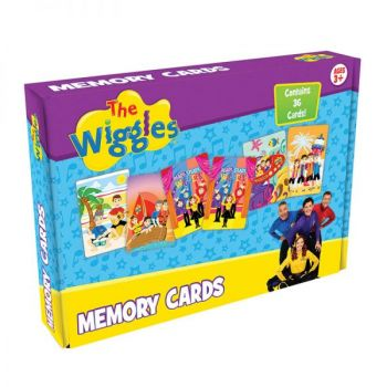 The Wiggles® Memory Boxed Cards