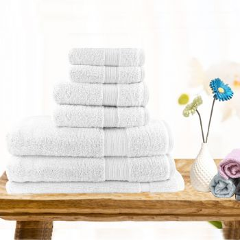 7 Piece Ultra-light Cotton Bath Towel Set