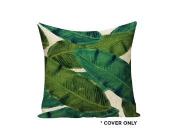 Indoor Cushion COVER - Kinabalu Jungle Palms - 45x45