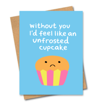 Unfrosted Cupcake