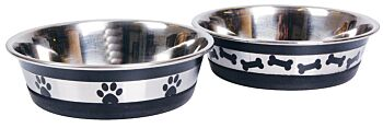 Printed Stainless Steel Small Pet Bowl